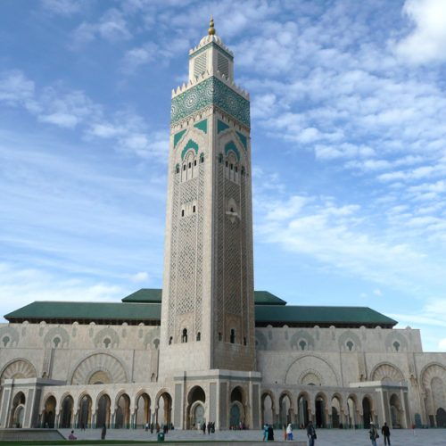 La Grande Mosquée Hassan II de Casablanca