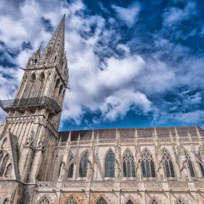 conservation des façades église Saint-Pierre de Caen
