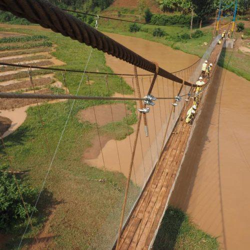 Le pont Uwarukara de la mobilité au Rwanda