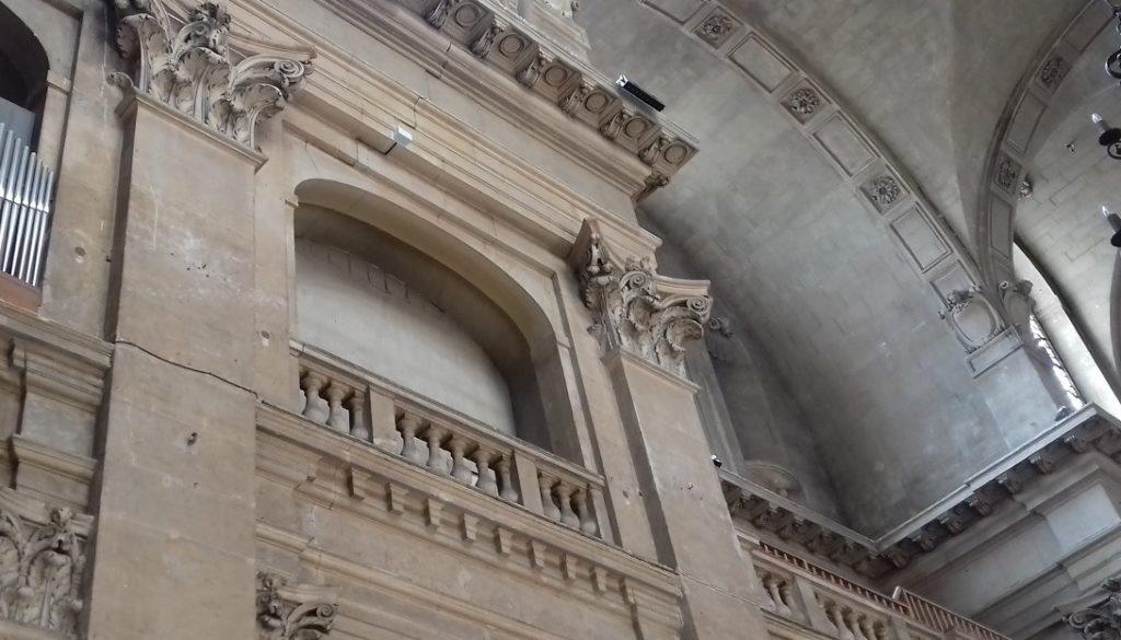 Oratoire du Louvre – Surveillance fissurométrique