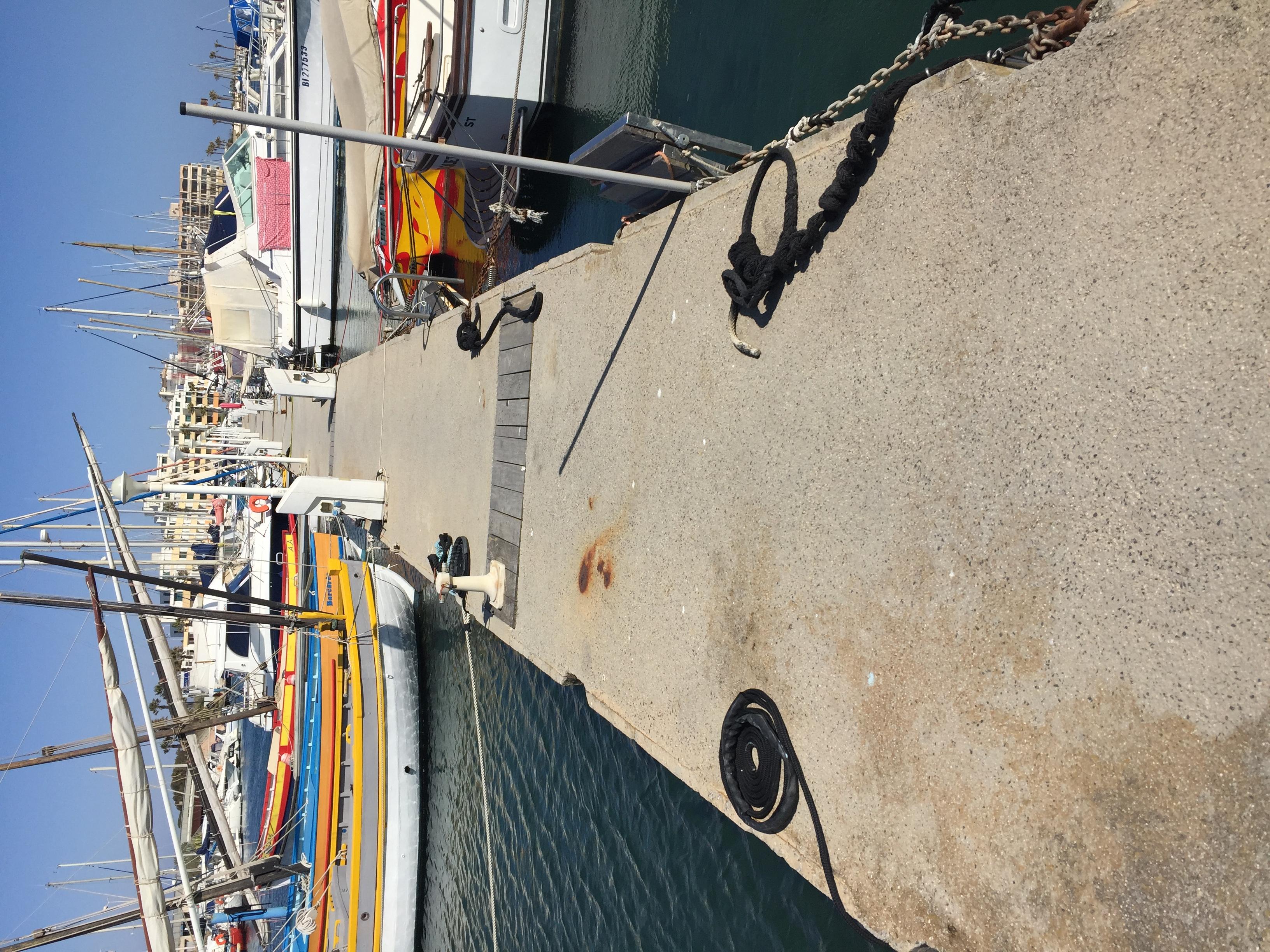 Port de Barcarès : diagnostic en bateau, sur ponton et à la nage !